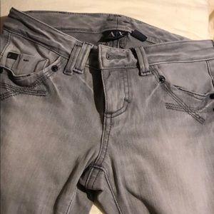 Armani exchange jeans.